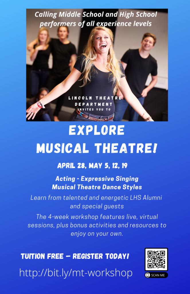 Musical Theatre Workshop Flyer